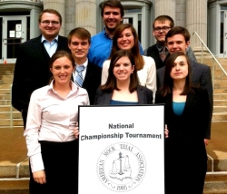 Mock Trial Team 15th in National Championship!