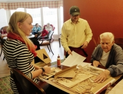 Therapeutic Recreation Students Partner with Local Assisted Living Facility