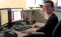 Senior Uses Co-Op Experience to Help Current, Prospective Students Via Social Media